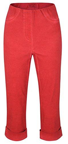 Para Pantalón Mujer Rojo Stehmann Capri ESqnH