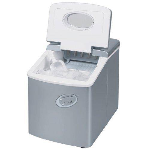 Eiswürfelmaschine - Eismaschine - Eismaschine für die Arbeitsplatte - Neues kompaktes Modell - Kein Wasseranschluss erforderlich - 15kg Eis in 24 Stunden TG20