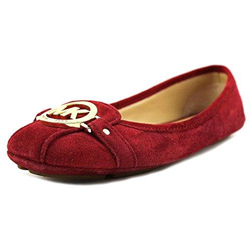 (Michael Michael Kors Women's Cherry Fulton Moc Suede Flats 8 (B))
