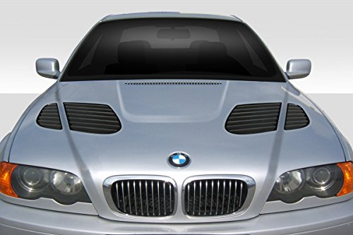 Duraflex Replacement for 1999-2001 BMW 3 Series E46 4DR GTR Hood - 1 Piece