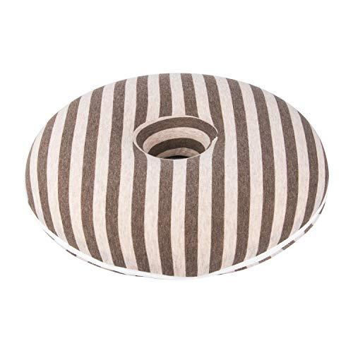 Lanker Memory Foam Gel Donut Cushion-for Hemorrhoid Treatment & Coccyx Pain Relief KJ60 by Lanker
