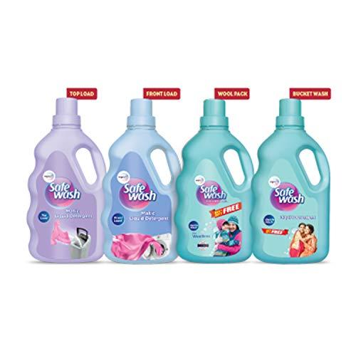 Wipro Safewash - Liquid Detergent 1 kg - Buy 1 Get 1 Free