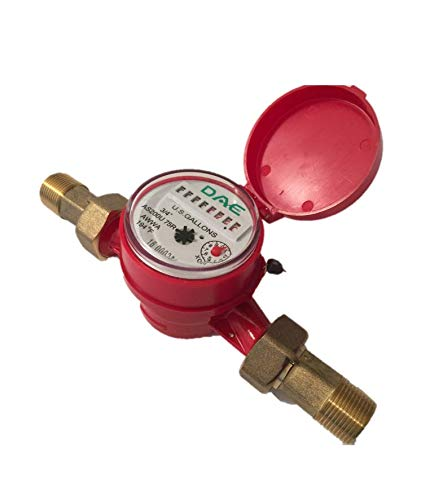 "DAE AS200U-75R Hot Water Meter, 3/4"" NPT Couplings, Measuring in Gallons from DAE"