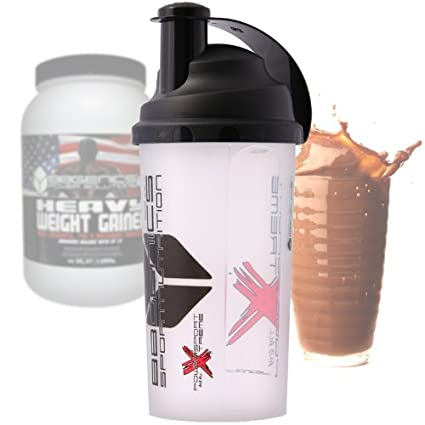 Heavy Weight Gainer, hidratos de carbono y proteínas, suplementos dietéticos BBGENICS, shaker