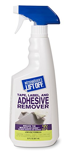 Motsenbocker's Lift Off Tape, Label, and Adhesive Remover #2, 22oz, Spray Bottle, 40701 (Used Carpet Cleaning Equipment)