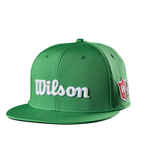 Wilson Flat Brim Golf Hat, Green ()