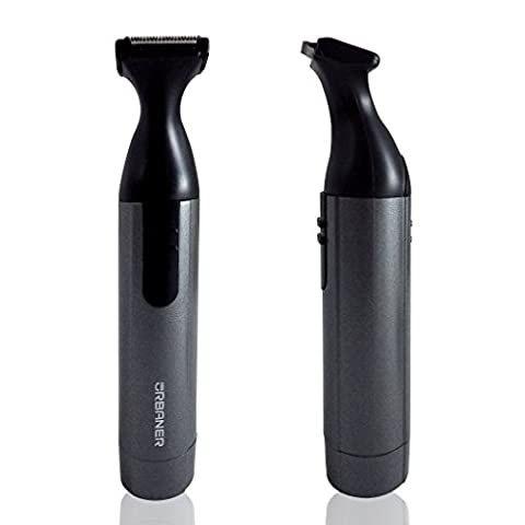 URBANER Beard and Mustache Trimmer Wet / Dry (Made in Taiwan) Comes With BoxCave Microfiber Cleaning (Beard Trimmer Japan)