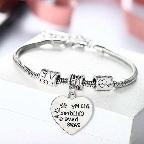 (Sandover Love Between Mother Daughter Son Grandma Bracelet Pendants Necklace Family Gifts | Model BRCLT - 49521 |)