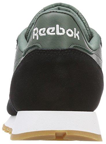 Gi Hommes Blanc Reebok Pour Leather Vert 000 craie Baskets Noir Cl Gomme XBRaRwE