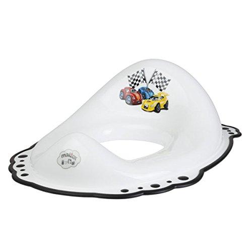 Maltex bébé Motif Cars Réducteur de toilette, Blanc