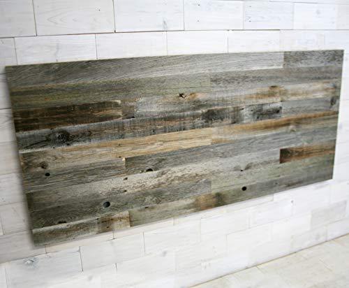 Staggered Barn Wood Headboard (Headboard Cedar)
