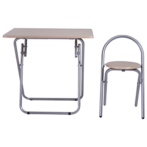 Heaven Tvcz Study Writing Desk Table Chair Set Folding Student Children For Your kids To Study, Write Or Read Home School by Heaven Tvcz