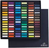 Rembrandt Royal Talens Soft Pastels General Set, 90 Half Stick Set