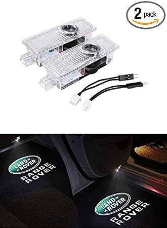 Amazon.com: Luces LED para puerta de coche, proyector ...