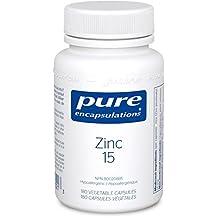 Pure Encapsulations - Zinc 15 - Zinc Picolinate for Immune Support* - 180 Vegetable Capsules