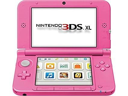 Carcasa completa para Nintendo 3DS XL. Rosa. Original ...