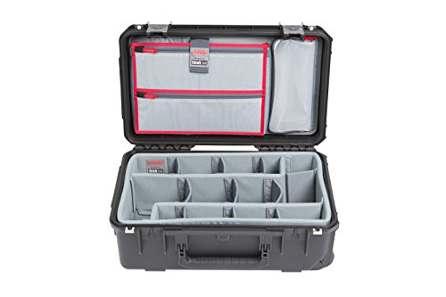 SKB Cases iSeries 3i-2011-7 Case with Think Tank Photo Dividers, Black (3i-2011-7DL) by SKB Cases