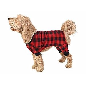 Lazy One LazyOne Matching Family Pajamas (Medium, Dog Flapjacks Onesie)