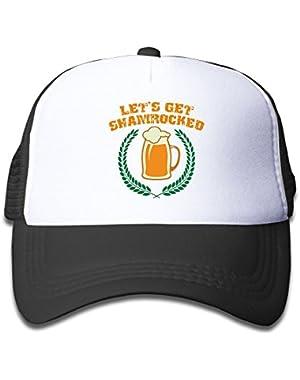 Let's Get Shamrocked Baby Boys Baseball Cap Cute Hat