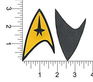 Patch Squad Men's Star Trek Command Starfleet Uniform Cosplay Patch