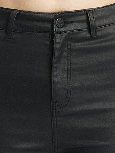 Deluxe Femme Noisy May Jeans skinny Coated Noir nmElla Jean 1pTpYnz