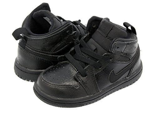 Toddler Air Jordan Retro 1 Mid Basketball Shoes (9c) by Jordan