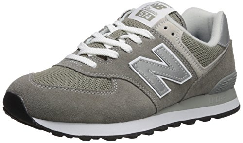 New Balance Men's Iconic 574 Sneaker, Grey, 12 D US -