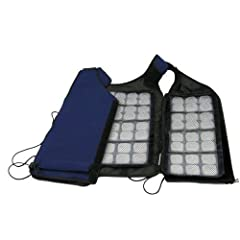 The FlexiFreeze Ice Vest is the lightest, thinnest, best performing, most cost effective cooling vest available today. With FlexiFreeze Freezable Ice Sheets integrated into its foundation, the patented FlexiFreeze Ice Vest harnesses the power...