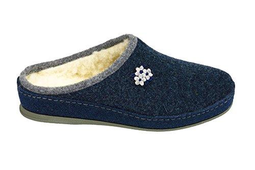 Ohne 320188 pantolette Marke 5 Damen Blau rwYrqOI