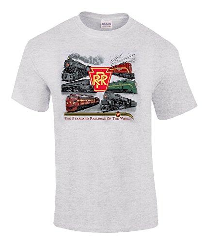 Pennsy Lives! Authentic Railroad T-shirt Adult XX-Large - Railroad Pennsy Pennsylvania Prr