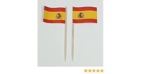 Party-Picker banderitas de papel bandera de España profesional 50 ...