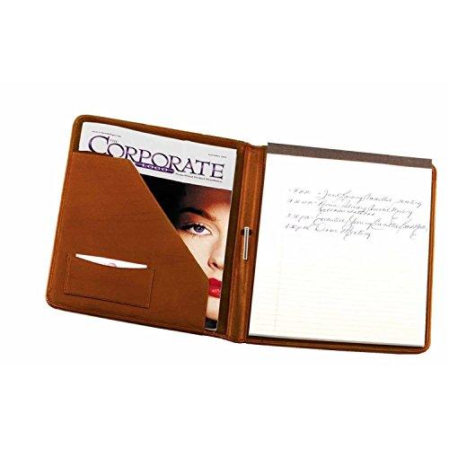 - Royce Leather Writing Padfolio (Tan)