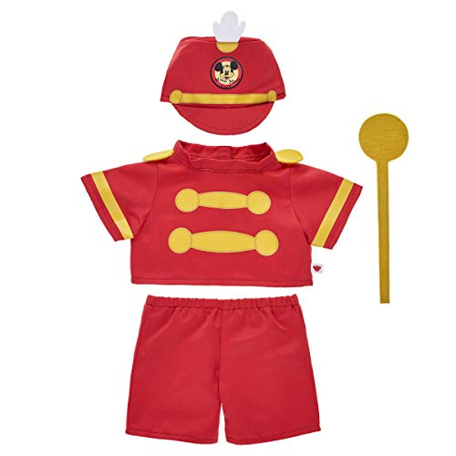 Build A Bear Workshop Online Exclusive Mickey Mouse Bandleader Costume 4 pc. -