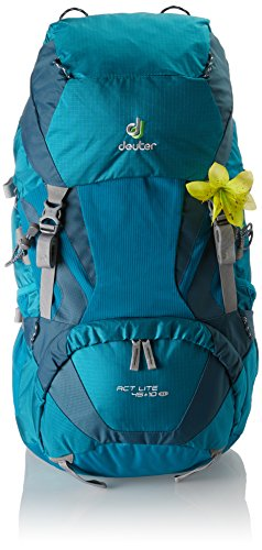 Deuter ACT Lite 45 + 10 SL - Ultralight Trekking Backpack, Petrol/Arctic