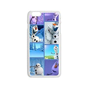 NICKER Frozen lovely snow doll Cell Phone Case for Iphone 6