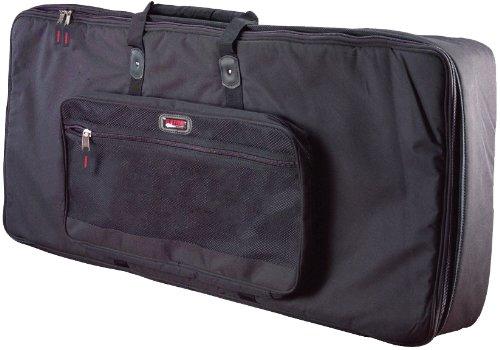 Gator Cases Padded Keyboard Gig Bag; Fits Slim Line 76 Note Keyboards (GKB-76 SLIM)