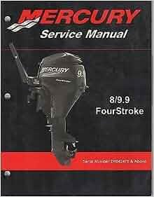 2004 Mercury Outboard Motor 8 9 9 Four Stroke Service border=