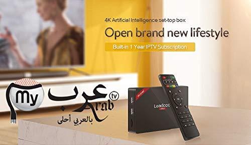 Arabic International TV Box 4k HD with 1 Year Free 3000 Channel جهاز  العائلة للقنواة العربية والعالمية