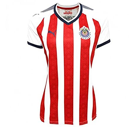 3538dae57a2 PUMA Women s Chivas Home Shirt Replica 17-18  Amazon.in  Sports ...