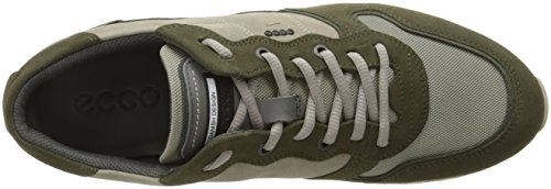ECCO Sneak Mens 430544-50301 Sneaker Pelle E Nylon