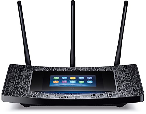 TP-Link AC1900 Wireless Wi-Fi Gigabit Router with Touch Screen Setup (Touch P5) by TP-Link