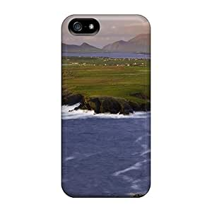 DrunkLove Protective Case For Iphone 5/5s(farms On A River Delta) wangjiang maoyi