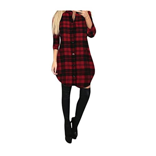Damen Freizeit Rundhals Langärmlig Solid Pullover Herbst Winter Warm Minikleid