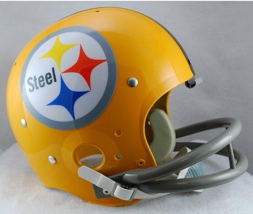 Pittsburgh Throwback Helmet Steelers (NFL Pittsburgh Steelers TK Suspension 1962 Helmet)