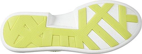 Kendall + Kylie Kvinders Cognac Sneaker Sort / Fluorescerende Gul 9nKay
