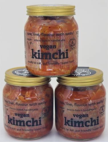 3X Vegan Kimchi Bundle £15 + krijg gratis verzending!