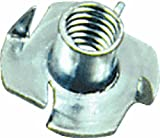 CRL Tee Nut for 1/2'' Standoffs Pack of 10 by CR Laurence