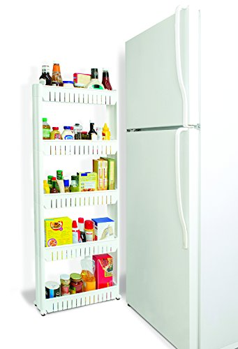 Amazing Amazon.com: Slim Slide Out 5 Tier Storage Tower   Ideal In Your Kitchen,  Bath And Laundry Rooms!: Home U0026 Kitchen
