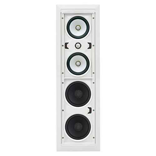 (SpeakerCraft ASM71531 AIM Cinema Three In-Wall Speaker - Each (White))