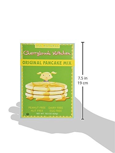 Cherrybrook Kitchen Original Pancake Mix, 18.5 oz (Pack of 6) by Cherrybrook Kitchen (Image #7)